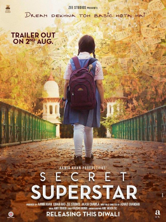 Aamir Khan Hindi movie Secret Superstar 2017 wiki, full star-cast, Release date, Actor, actress, Song name, photo, poster, trailer, wallpaper