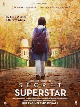 Aamir khan New Upcoming movie Secret Superstar 2017 Poster, Release Date, Budget, Actress name, photos, Poster, Aamir khan Next Dangal
