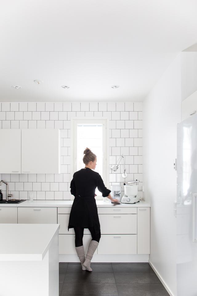 yleiskone, villa h blogi, keittiö, leipominen, siisti koti