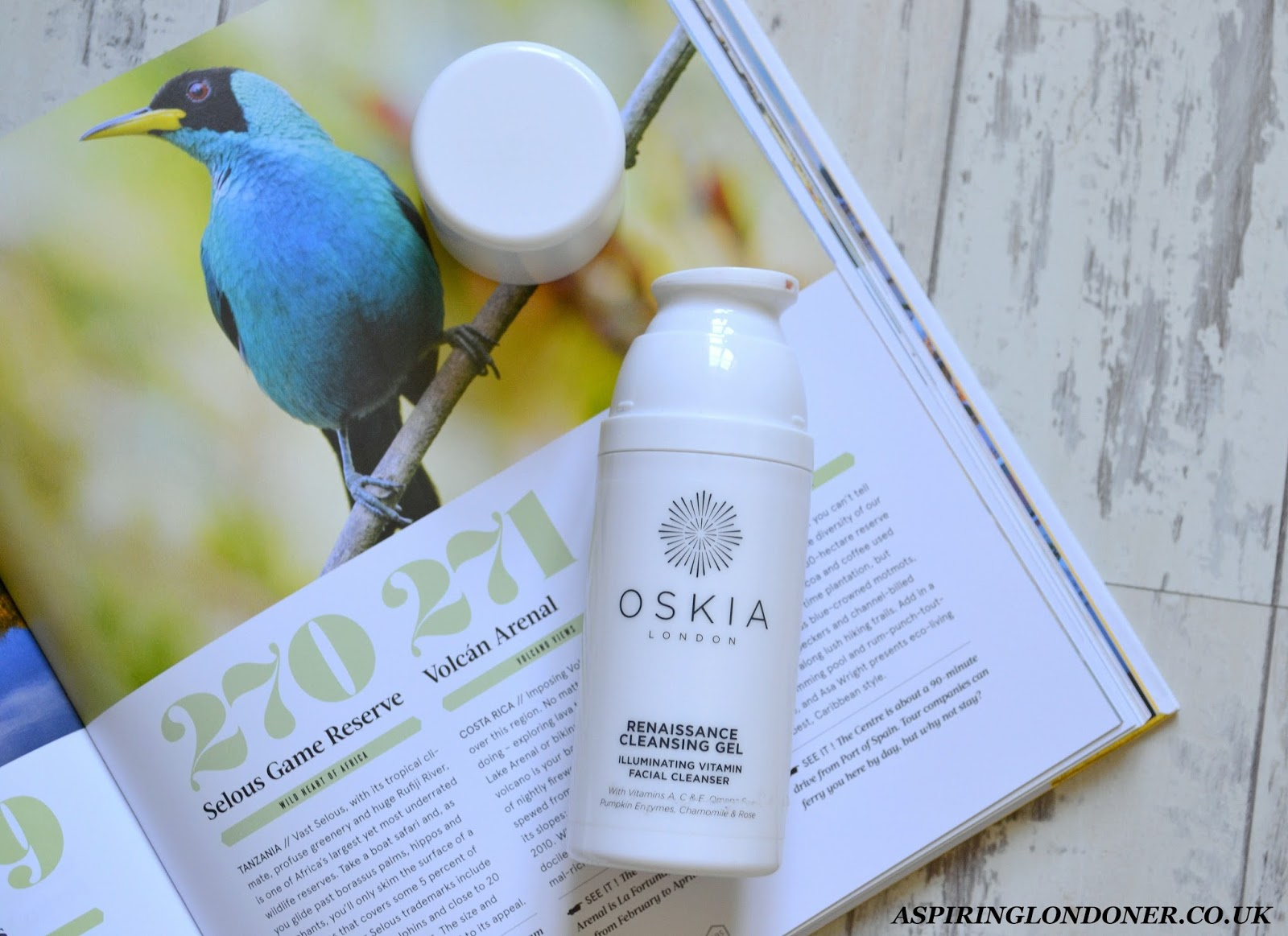 OSKIA Renaissance Cleansing Gel Review - Aspiring Londoner