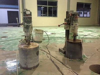 Khoan cắt bê tông huyện Bình Chánh