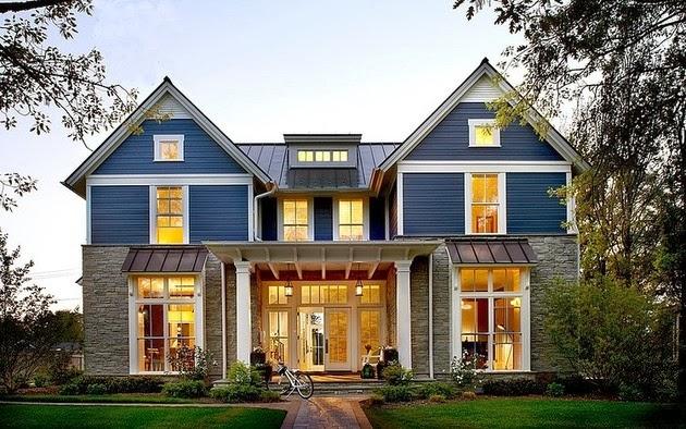 Desain Rumah Modern Dan Tradisional Dalam Jadi Satu