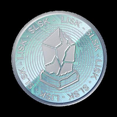 仮想通貨リスクのフリー素材(アルミver)