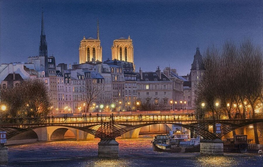 01-Parisian-Nighttime-View-01-Thierry-Duval-www-designstack-co