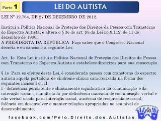 Lei do Autista