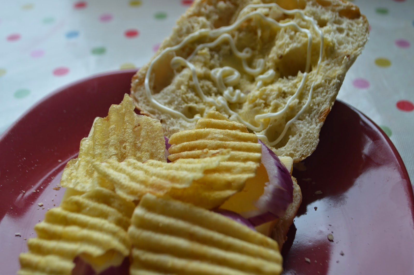 , A Cheese and Onion Sandwich Through and Through (Seabrook Crisps)