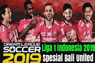 Download DLS 19 Mod Gojek Liga 1 Indonesia Spesial Bali United Update Transfer 2019