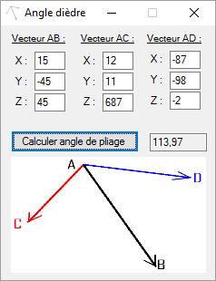 [PC] Logiciel : Angle dièdre Dd
