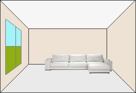 Cuatro maneras de pintar un ambiente - Como pintar el techo ...