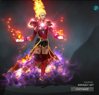 Lina - Arcana+Immortal+Bewitching Flare