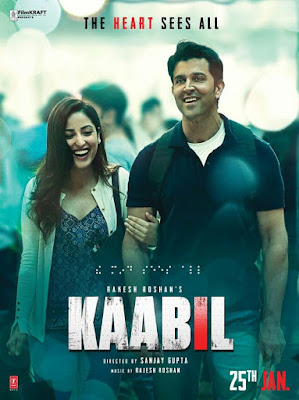 Kaabil 2017 Hindi DVDScr 400mb