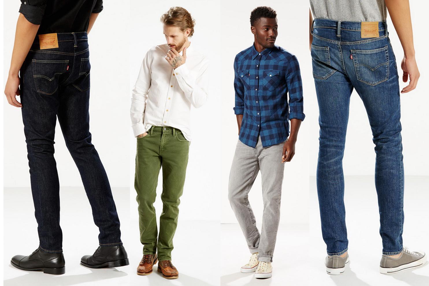 357020ac7 Они разные, модные мужские джинсы Levi's представленные в текущей коллекции  бренда. Зауженные серии 510 skinny или 511 slim, свободного покроя 550  relaxed, ...