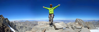 Me at the summit of Polemonium Peak.