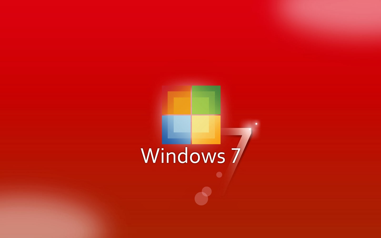 3d Wallpapers Blue Theme Wallpaper Wallpapers Windows 7 Red Wallpapers
