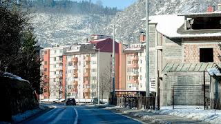 Somewhere between Sarajevo and Tuzla
