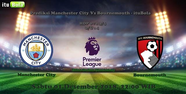 Prediksi Manchester City Vs Bournemouth - ituBola