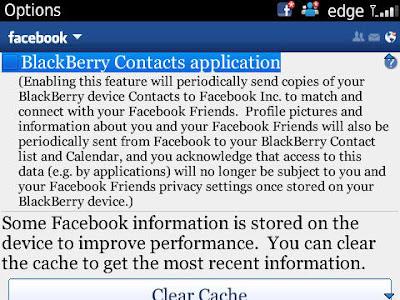 Facebook dan daftar nomor telepon HP
