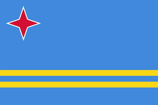 Bandera de Aruba.