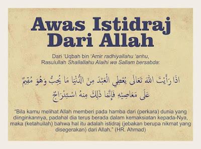 ISTIDRAJ DALAM ISLAM