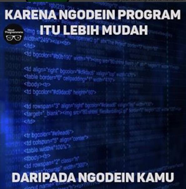 10 Meme Kocak Anak Programmer Ini Dijamin Bikin Cekikikan Seharian