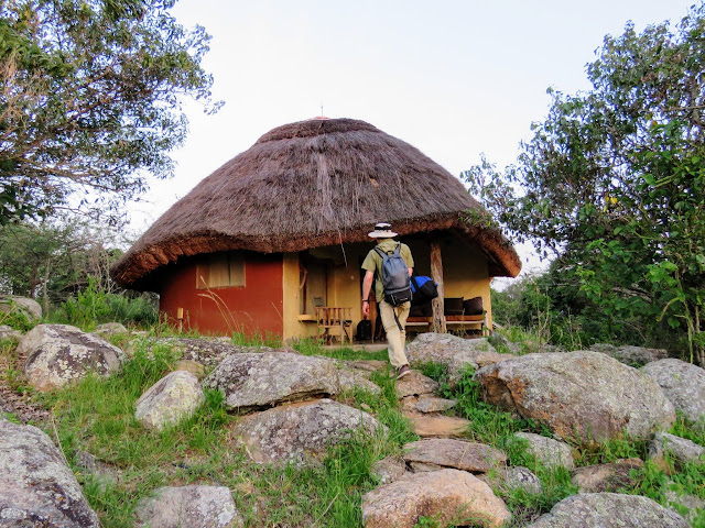 Cabin at Rwakobo Lodge in Uganda