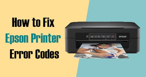 How to Epson Printer Error Codes?