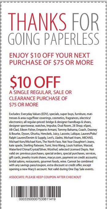 24dealz Macys Promo Code And Printable Coupons August 2013
