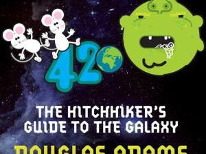 AUDIOBOOK REVIEW - The Hitchhiker's Guide to the Galaxy narrated by Stephen Fry