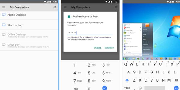 Chrome Remote Desktop - Android