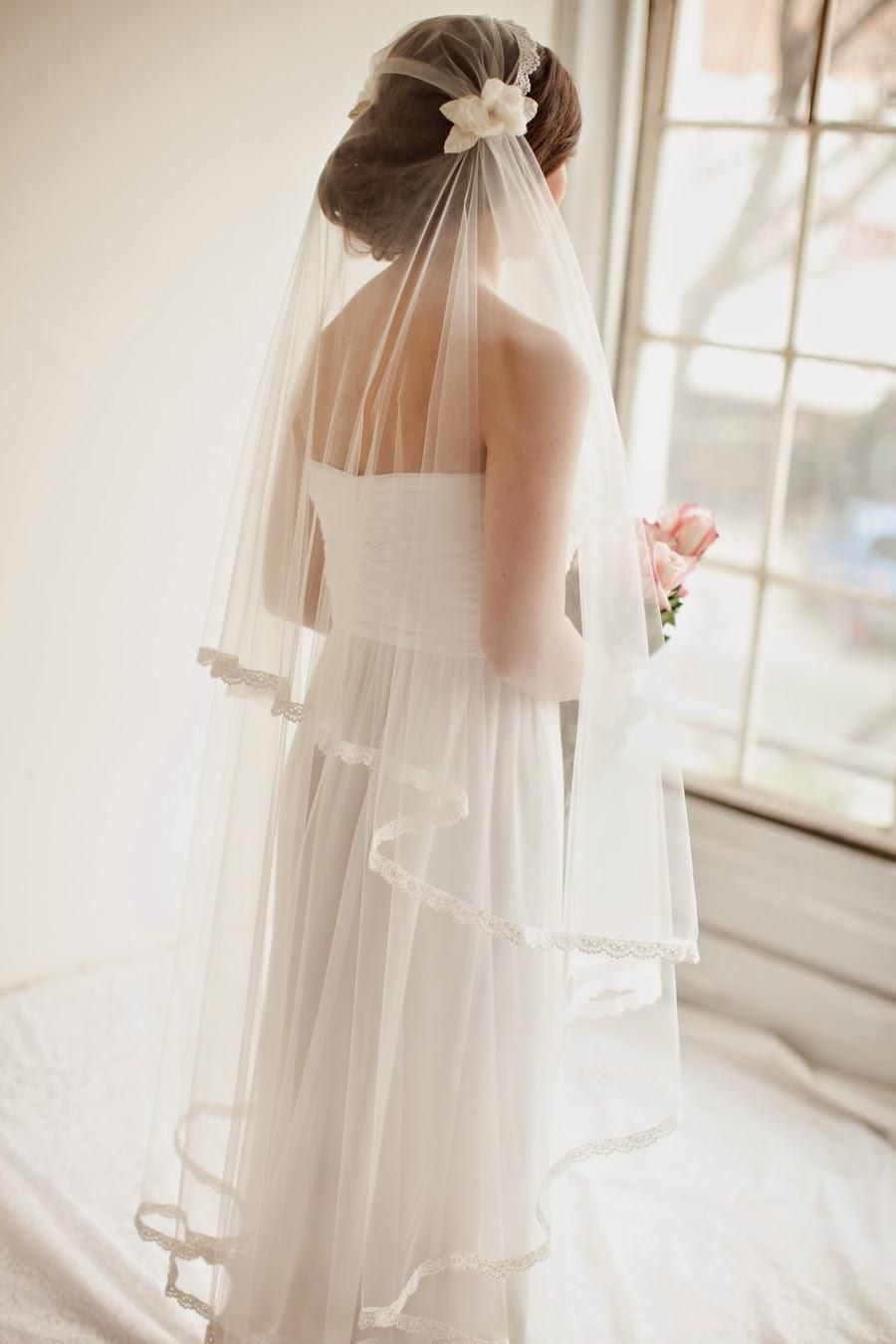 Melinda Rose Design: Different types of Wedding Veils