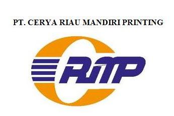 Lowongan Kerja Pekanbaru : PT. Cerya Riau Mandiri Printing April 2017