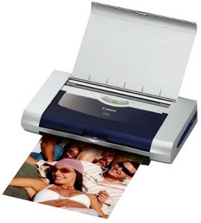 is a portable printer with inkjet desktop for speed and quality Canon iP90 Driver Download