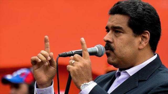 """Maduro: EEUU busca 'asfixiar' la economía de Venezuela y presentarla como """"mendiga"""""""