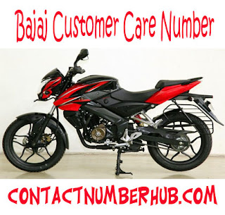 Bajaj Customer Care Number images