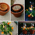 Great idea : Potted Candle Planters