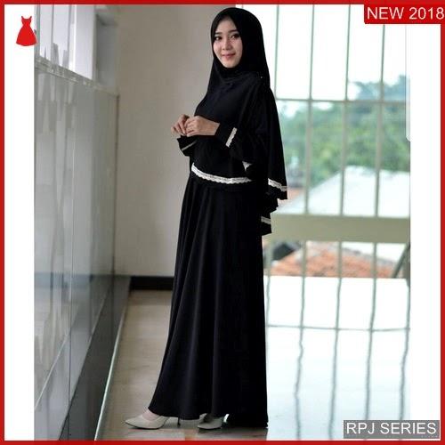 RPJ158D104 Model Dress Habibah Cantik Syari Wanita