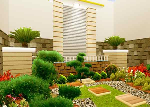 Taman Modern Contoh Desain Taman Terbaru