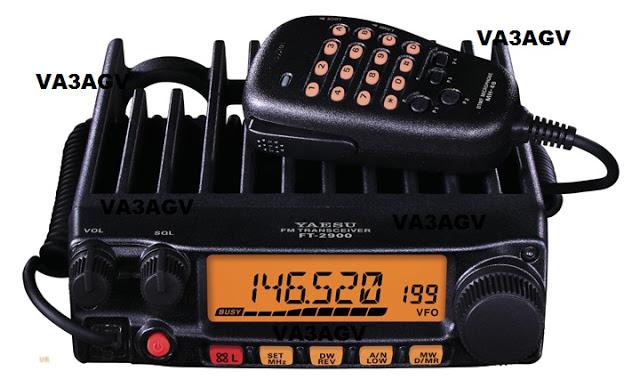 VA3AGV Yaesu FT-2900R 75 Watt