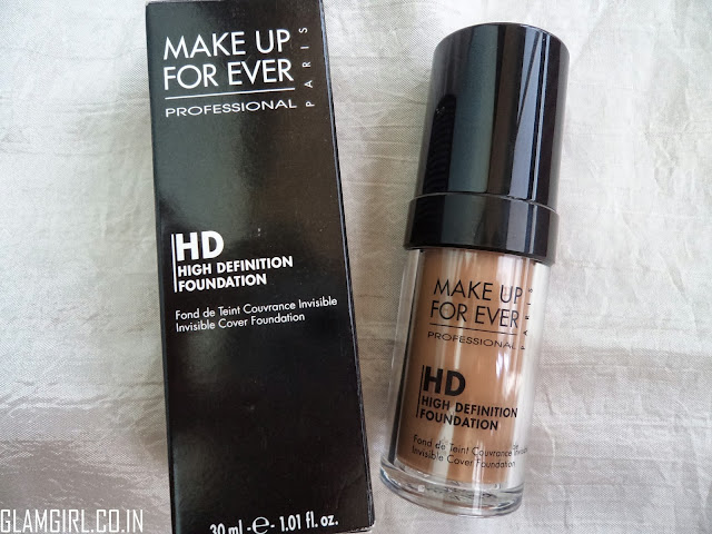 MAKE UP FOR EVER HD FOUNDATION IN N128 ALMOND REVIEW