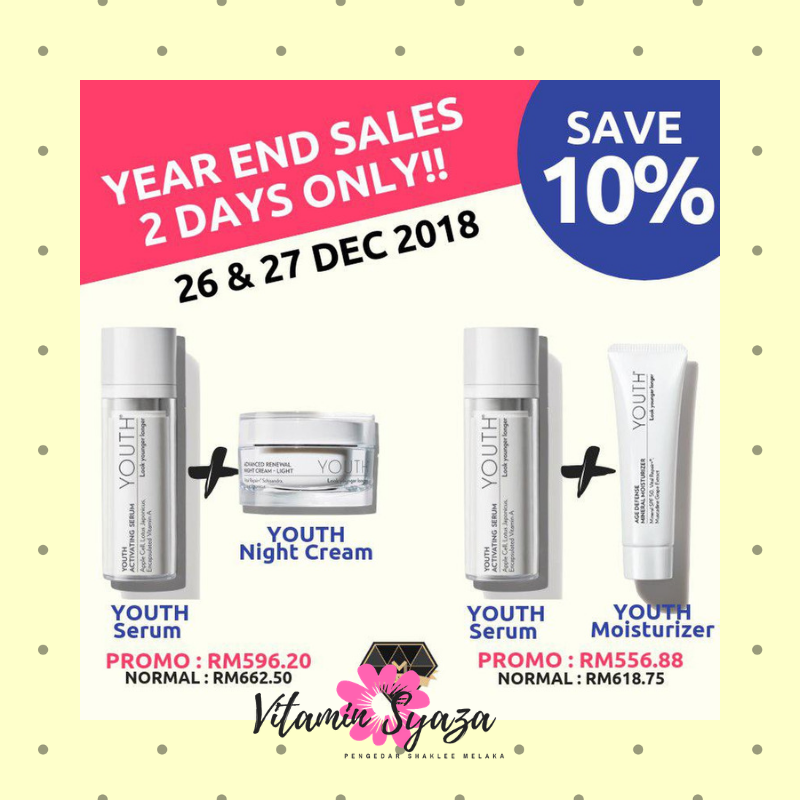 year end sales yes shaklee 2018