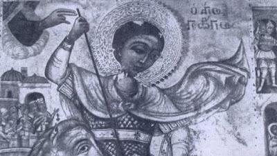 Επαναπατρίστηκε η εικόνα του Αγίου Γεωργίου Καραβά