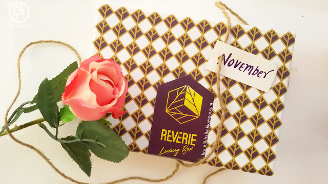 November 2016 Reverie Box Unboxing