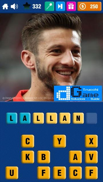 Calcio Quiz 2017 soluzione livello 331-340 | Parola e foto