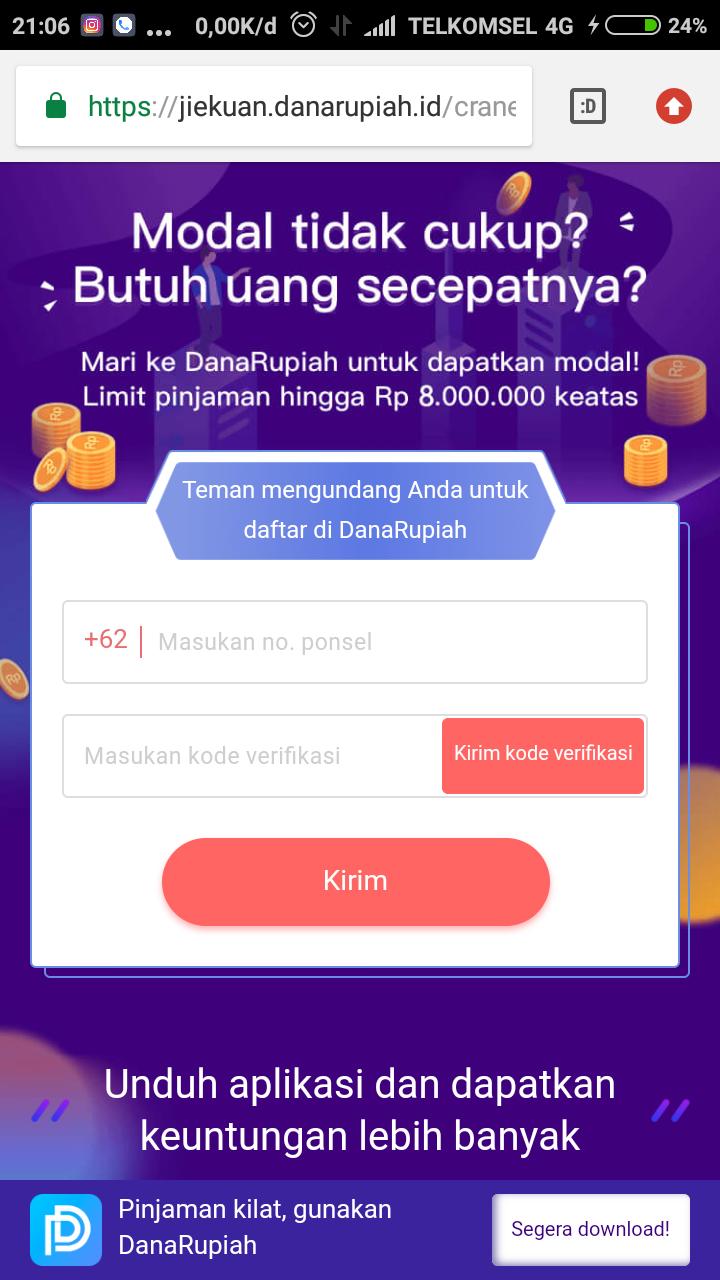 Butuh pinjaman untuk kredit HP baru? Gunakan saja Dana Rupiah untuk dapatkan pinjaman dana cepat untuk kebutuhan Anda.