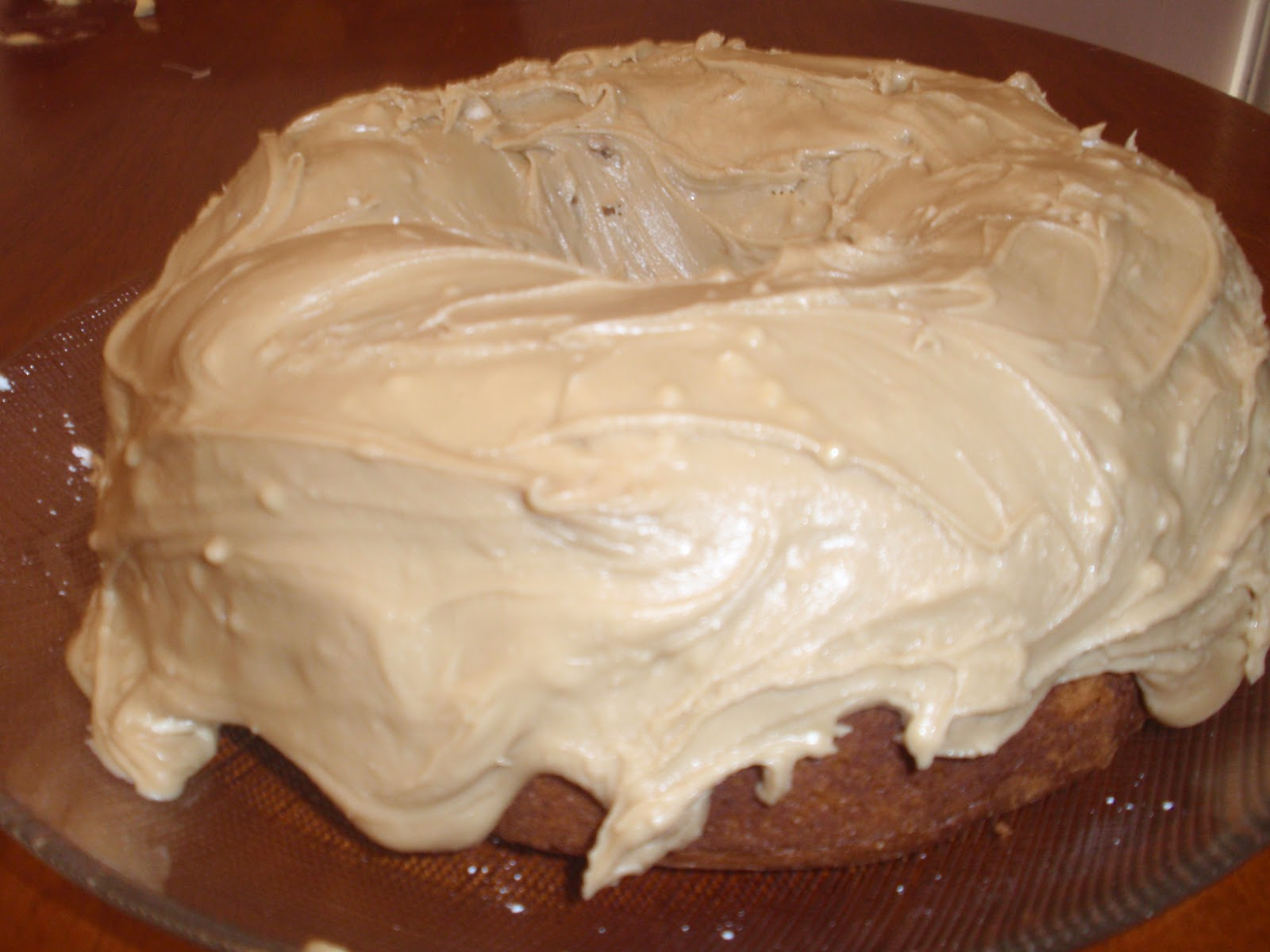 Quick Caramel Cake Frosting