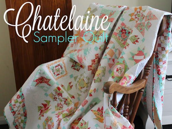 Chatelaine- Free BOW Sampler Quilt Photo Gallery