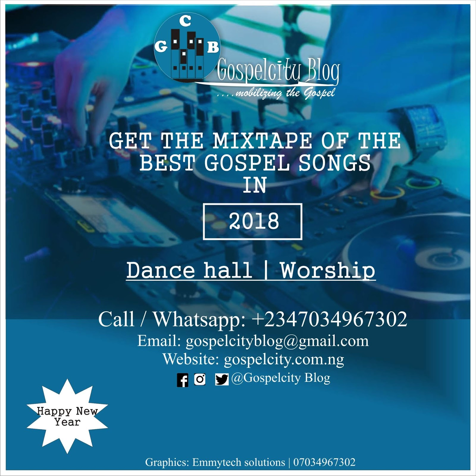 Music] Download Mixtape of the best Gospel Songs in 2018 (gbedu