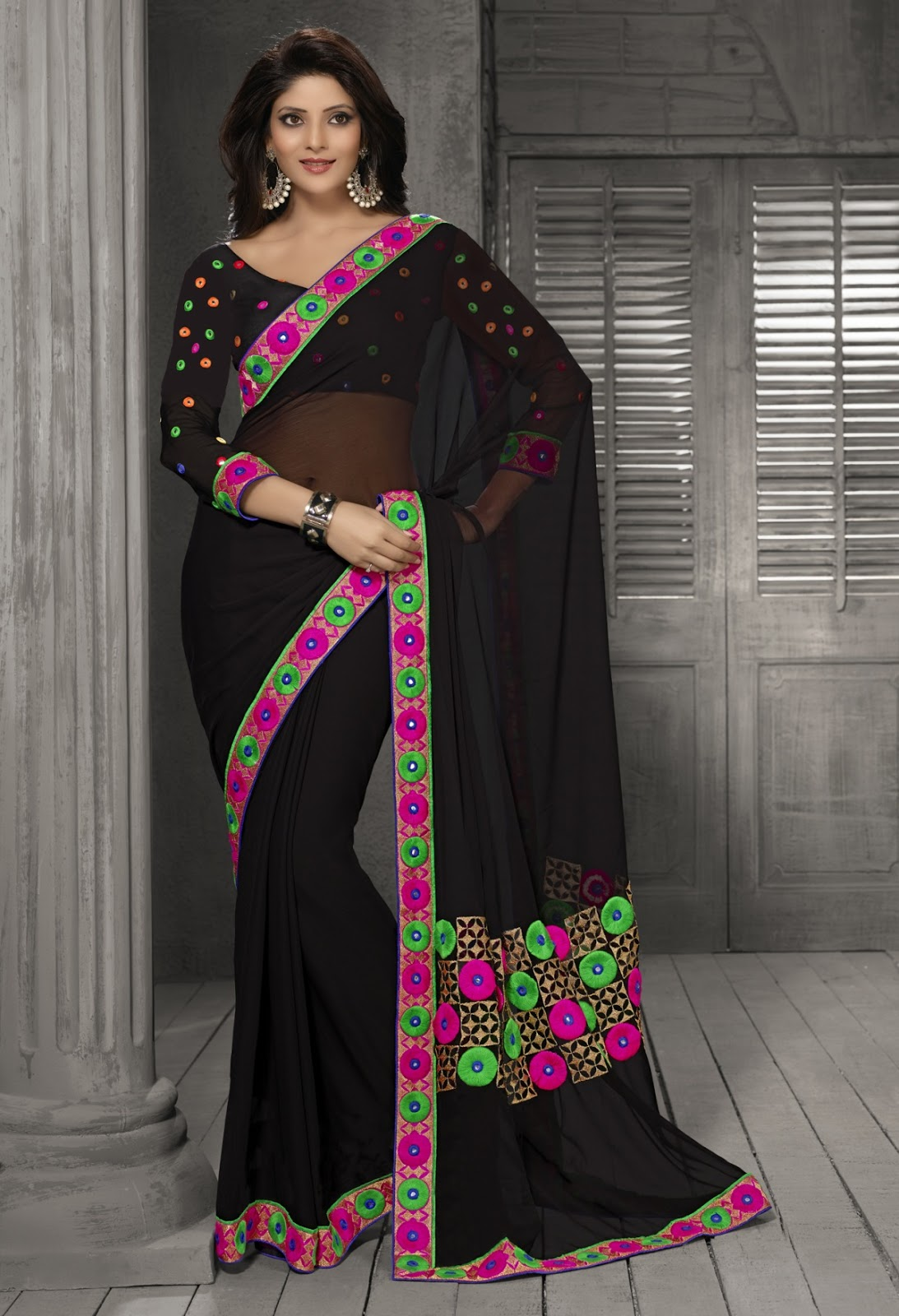 The Style Issue 2 – Beautiful Collection Of Formal Wear Saree