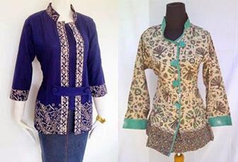 45 Model Baju Seragam Batik Guru Terbaru Modis Elegan Terlengkap