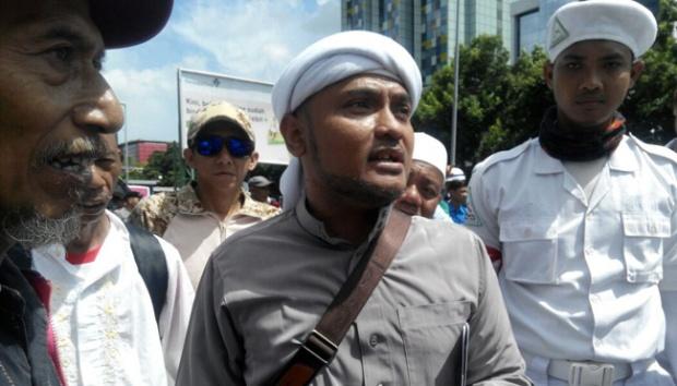 Pidato Lengkap Novel PA 212 Soal Cinta Prabowo Masuk Surga